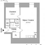 Vitré, Apartamento 2 assoalhadas, 41,33 m2