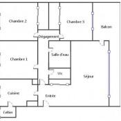 Le Pecq, Apartamento 4 assoalhadas, 74 m2