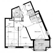 Clamart, 3 Zimmer, 62,65 m2