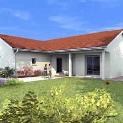 Maison  4 pièces + Terrain  1010 m² Saint-Pierre-de-Curtille