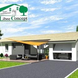 Maison  5 pièces + Terrain  600 m² Chanoz-Châtenay