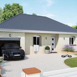 Maison  2 pièces + Terrain  605 m² Villemandeur