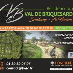 Terrain  de 300 m²  Rambouillet  (78120)