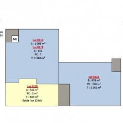 Location Local d'activités Villepinte 547 m²