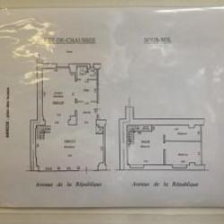 Cession de bail Local commercial Paris 11ème 94 m²