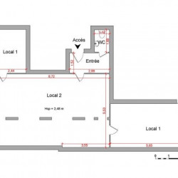 Location Local commercial Ferney-Voltaire 80,72 m²