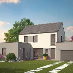 Maison  4 pièces + Terrain  1077 m² Corpeau