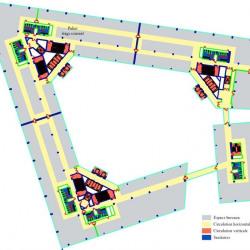 Location Bureau Colombes 1945 m²