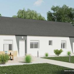 Maison  3 pièces + Terrain  306 m² Souppes-sur-Loing