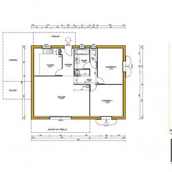 Maison  3 pièces + Terrain  800 m² Sospel