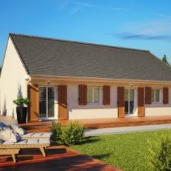 Maison  4 pièces + Terrain  461 m² Courville-sur-Eure