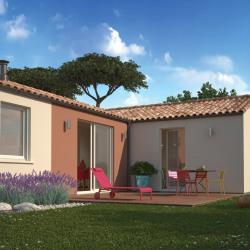 Maison  6 pièces + Terrain  680 m² Rétaud