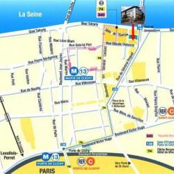 Location Bureau Clichy 300 m²