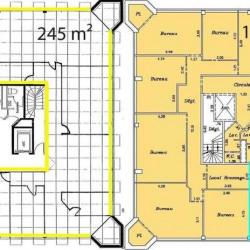 Location Bureau Metz 420 m²