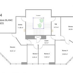 Vente Bureau Bruges 139 m²