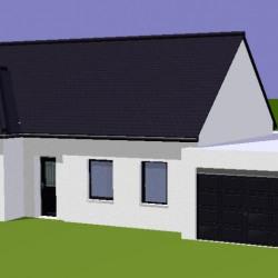 Maison  8 pièces + Terrain  1194 m² Airon-Notre-Dame