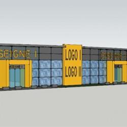 Location Local commercial Quetigny 2100 m²
