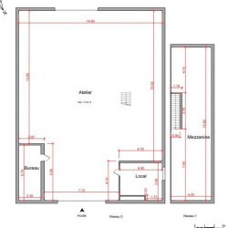 Location Entrepôt Vienne 274,77 m²