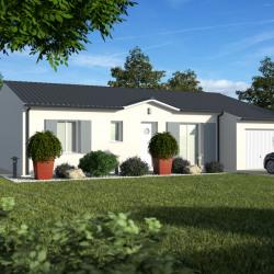 Maison  4 pièces + Terrain  900 m² Eyrans