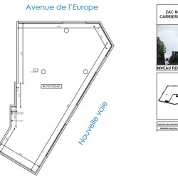 Location Local commercial Carrières-sous-Poissy 169 m²