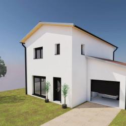 Maison  4 pièces + Terrain  624 m² Thurins