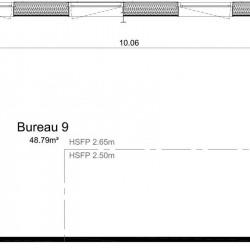Vente Bureau Ifs 49 m²