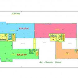 Location Bureau Massy 7244 m²