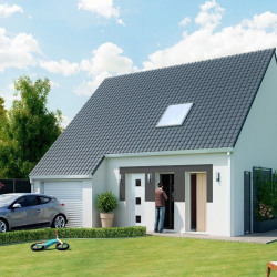 Maison  4 pièces + Terrain  600 m² Valence-en-Brie
