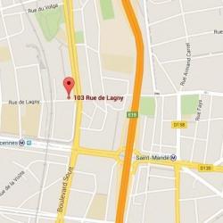 Location Local commercial Paris 20ème 388 m²