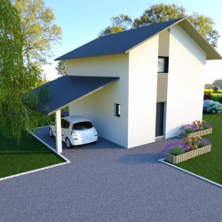 Maison  4 pièces + Terrain  900 m² Les Mollettes