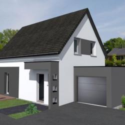 Maison   pièces + Terrain  1200 m² Drusenheim
