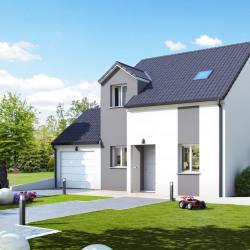 Maison  6 pièces + Terrain  433 m² Marcilly sur Tille