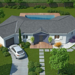 Maison  4 pièces + Terrain  1800 m² Marmande