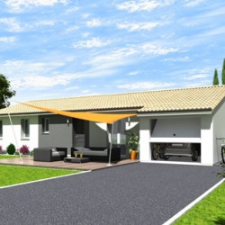 Maison  3 pièces + Terrain  453 m² Sainte-Eulalie-en-Born