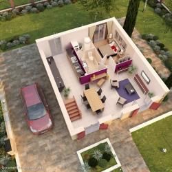 Maison  5 pièces + Terrain   m² Ballancourt-sur-Essonne