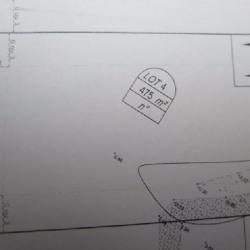 Vente Terrain Santec 475 m²