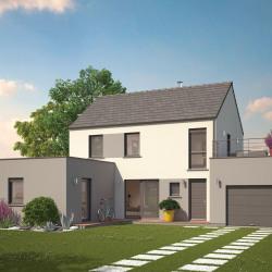 Maison  4 pièces + Terrain  835 m² Pontailler-sur-Saône