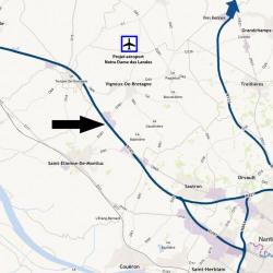 Location Local d'activités Saint-Étienne-de-Montluc 1228 m²