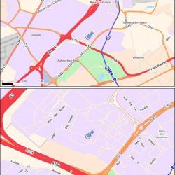 Location Local d'activités Villepinte 576 m²
