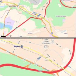 Location Bureau Bièvres 1409 m²