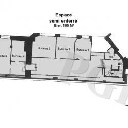 Location Bureau Paris 10ème 200 m²