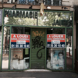 Location Local commercial Paris 19ème 63 m²