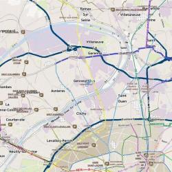 Location Local d'activités Gennevilliers 2195 m²