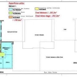 Location Bureau Levallois-Perret 202,2 m²
