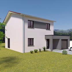 Maison  5 pièces + Terrain  229 m² Saint-Didier-sous-Riverie