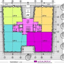 Location Bureau Labège 185 m²