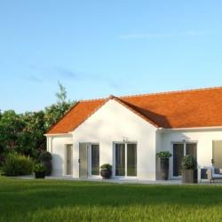 Maison  5 pièces + Terrain  1000 m² Mantes-la-Jolie