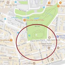 Location Local commercial Paris 18ème 17 m²