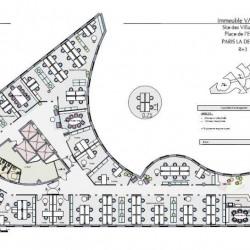 Location Bureau Puteaux 7456 m²