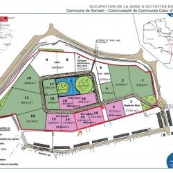 Location Local d'activités Somain 1090 m²